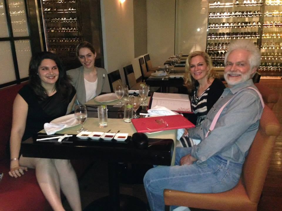 Dr. Lancer and his family - Dermatologist in Beverly Hills