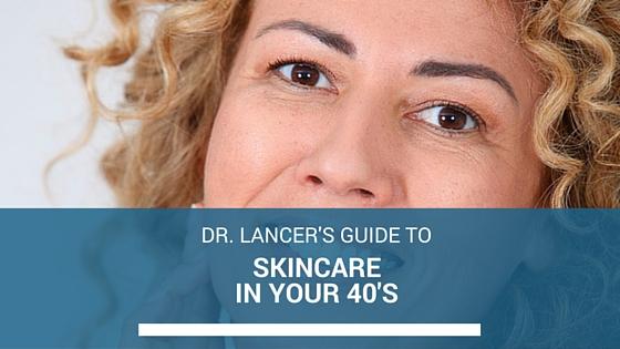 skin care at 40
