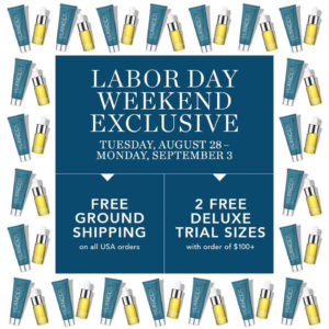 Lancer Skin Care & Beauty for Labor Day Weekend