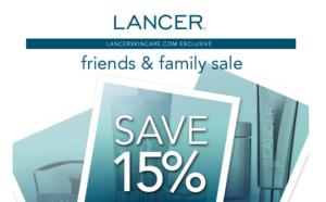 Lancer Skincare Sale - Lancer Products on Sale